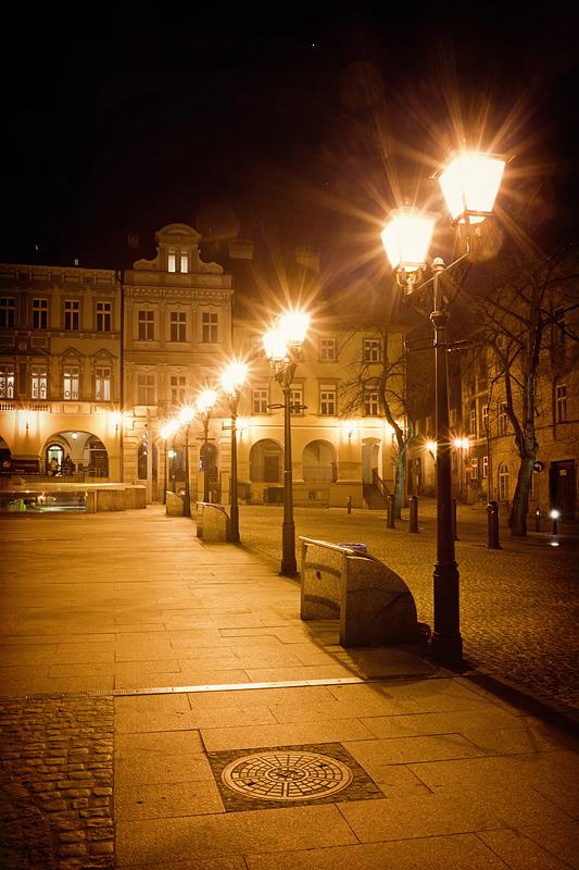 Bielsko nocą 2